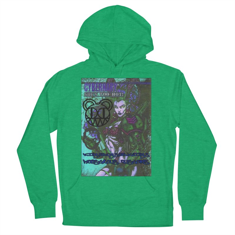 She's Too Hot Men's Pullover Hoody by Monstrous Customs