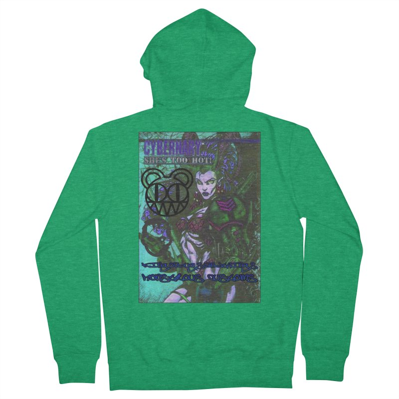 She's Too Hot Women's Zip-Up Hoody by Monstrous Customs