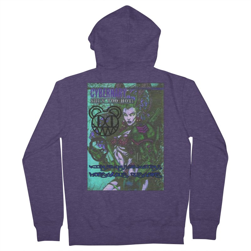 She's Too Hot Men's French Terry Zip-Up Hoody by Monstrous Customs