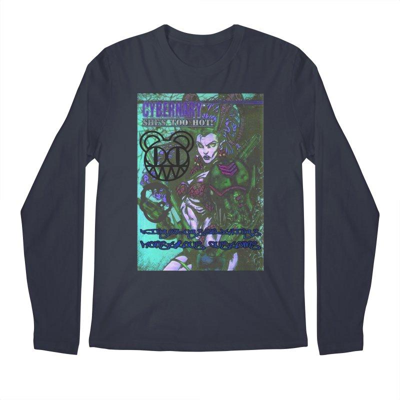 She's Too Hot Men's Regular Longsleeve T-Shirt by Monstrous Customs