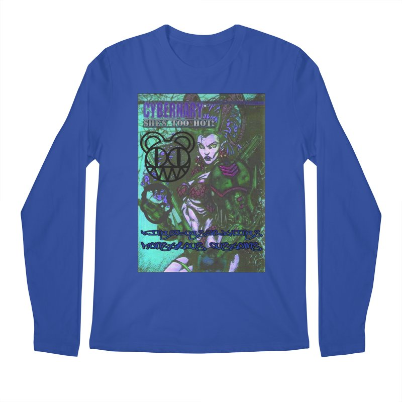 She's Too Hot Men's Regular Longsleeve T-Shirt by Monstrous Customs