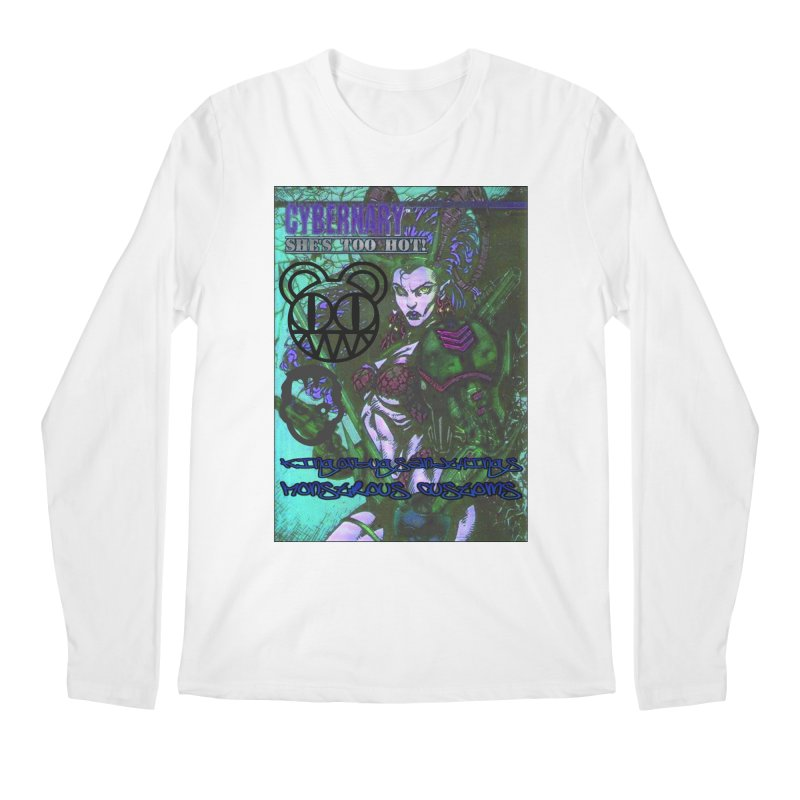 She's Too Hot Men's Longsleeve T-Shirt by Monstrous Customs