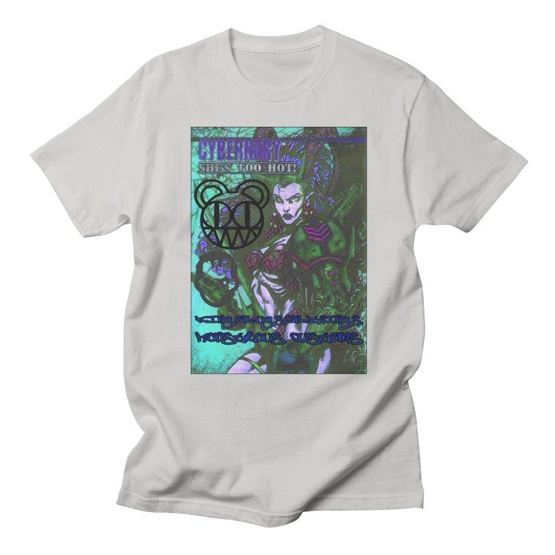 She's Too Hot Men's Regular T-Shirt by Monstrous Customs