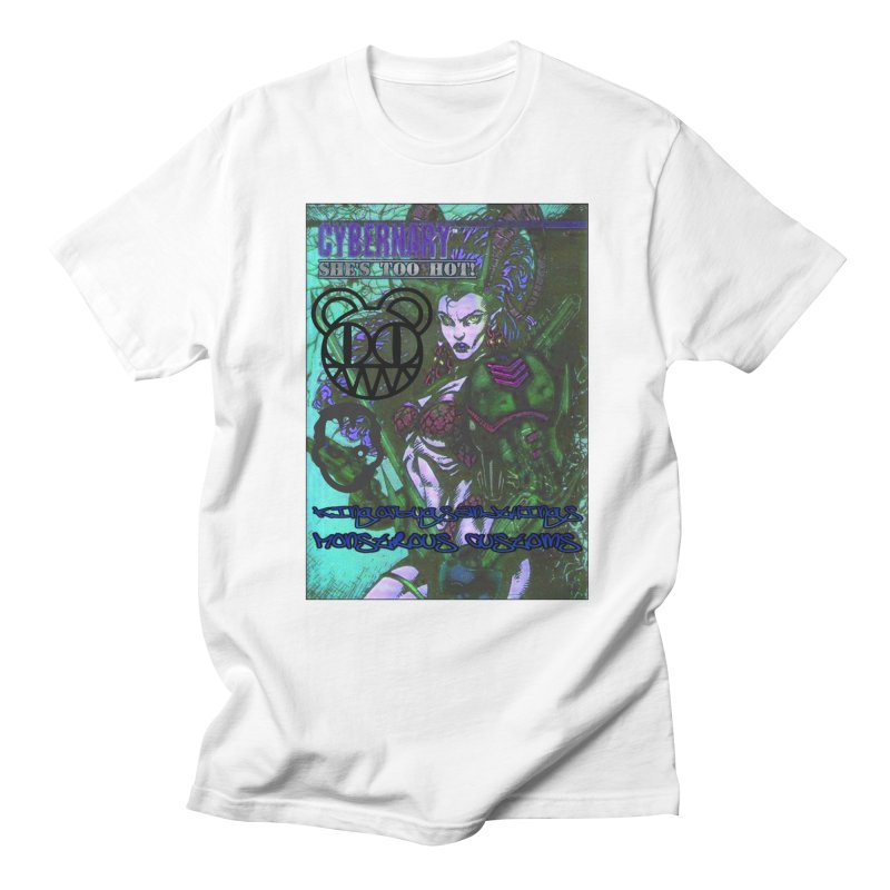 She's Too Hot Men's Regular T-Shirt by Monstrous Customs