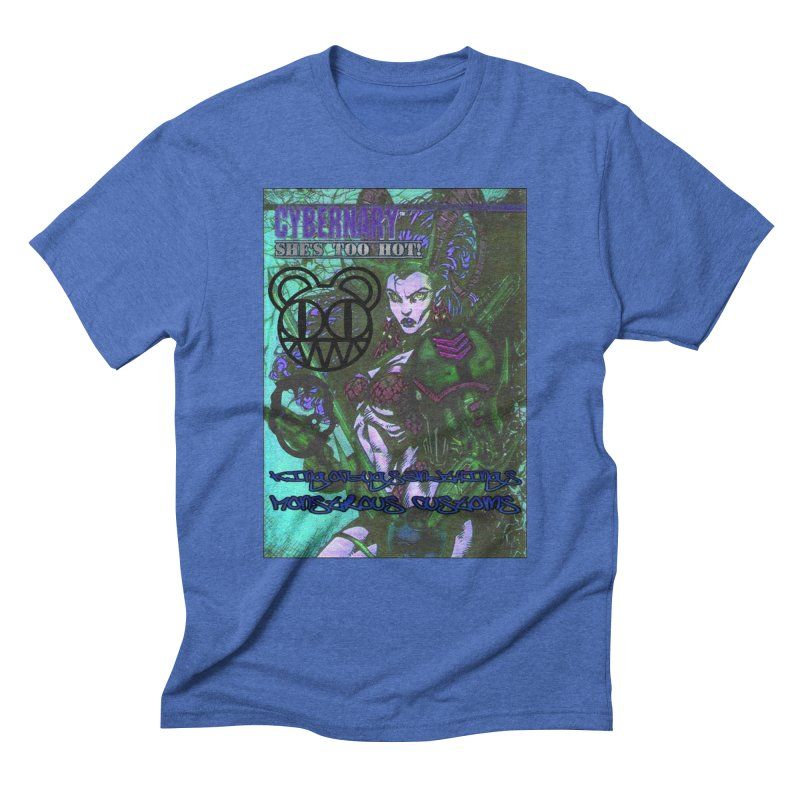 She's Too Hot Men's Triblend T-shirt by Monstrous Customs