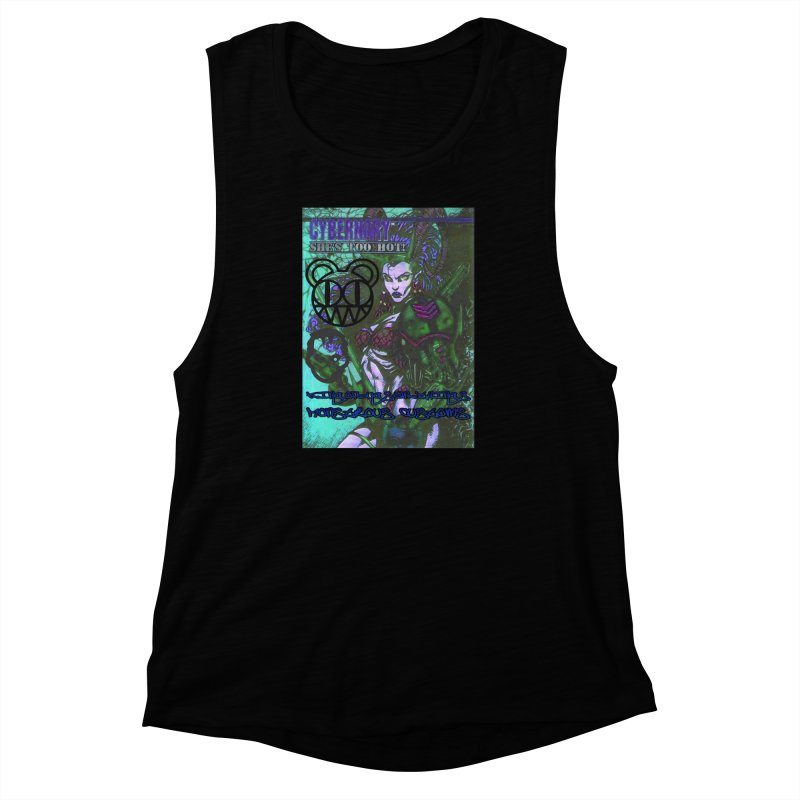 She's Too Hot Women's Muscle Tank by Monstrous Customs