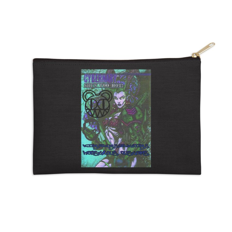 She's Too Hot Accessories Zip Pouch by Monstrous Customs
