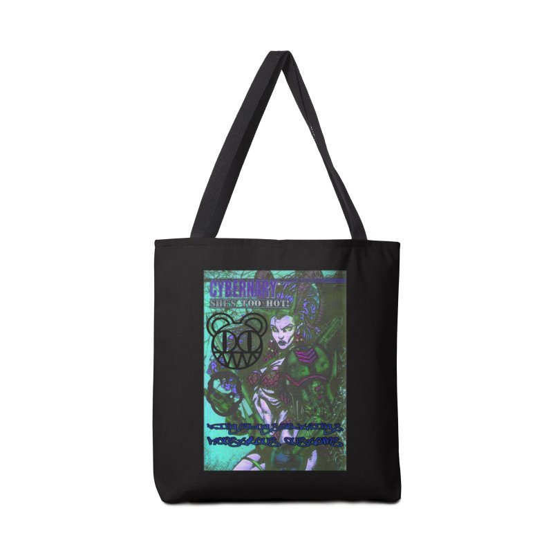 She's Too Hot Accessories Tote Bag Bag by Monstrous Customs