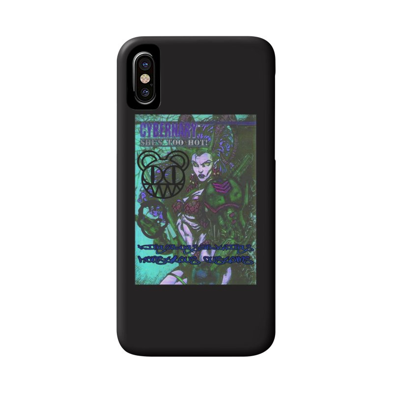 She's Too Hot Accessories Phone Case by Monstrous Customs