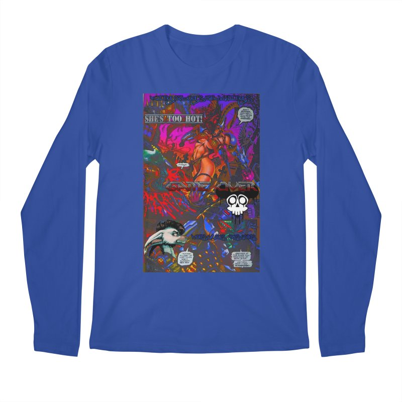 She's Too Hot2 Men's Regular Longsleeve T-Shirt by Monstrous Customs