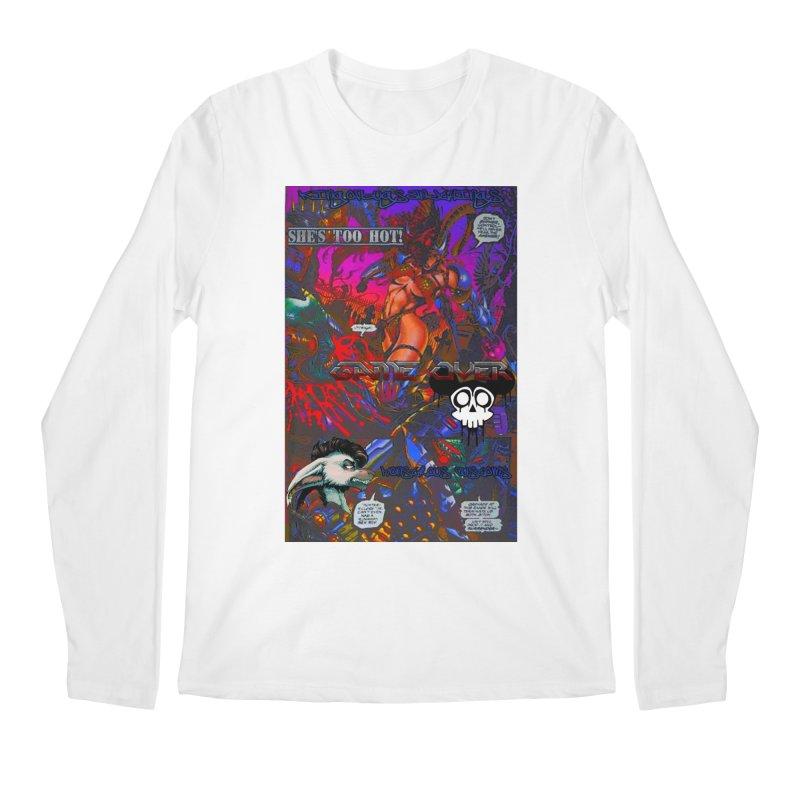 She's Too Hot2 Men's Regular Longsleeve T-Shirt by Monstrous Customs