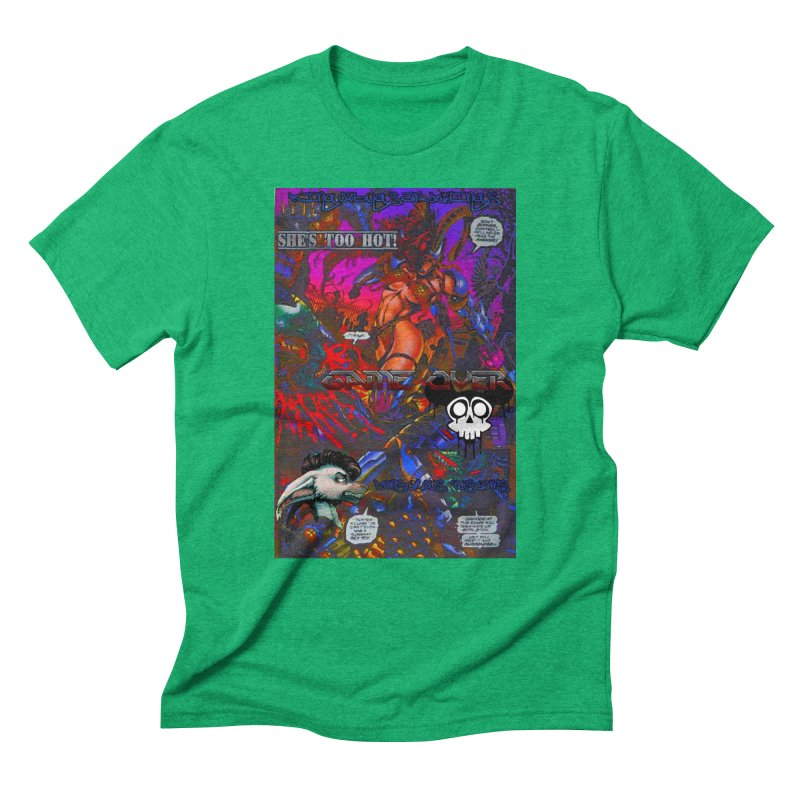 She's Too Hot2 Men's Triblend T-Shirt by Monstrous Customs