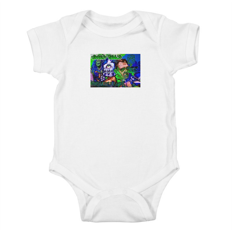 Airhead Genius Kids Baby Bodysuit by Monstrous Customs