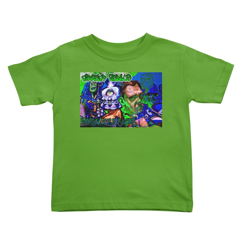 Airhead Genius Kids Toddler T-Shirt by Monstrous Customs