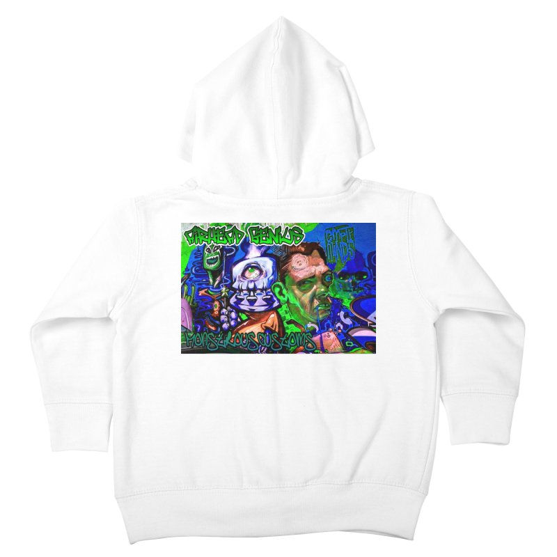 Airhead Genius Kids Toddler Zip-Up Hoody by Monstrous Customs