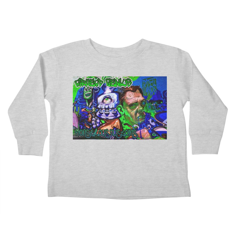 Airhead Genius Kids Toddler Longsleeve T-Shirt by Monstrous Customs