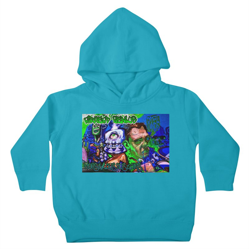 Airhead Genius Kids Toddler Pullover Hoody by Monstrous Customs
