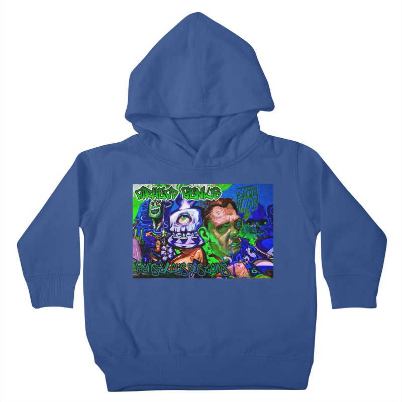 Airhead Genius Kids Toddler Pullover Hoody by Monstrous Customs