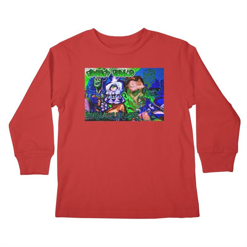 Airhead Genius Kids Longsleeve T-Shirt by Monstrous Customs