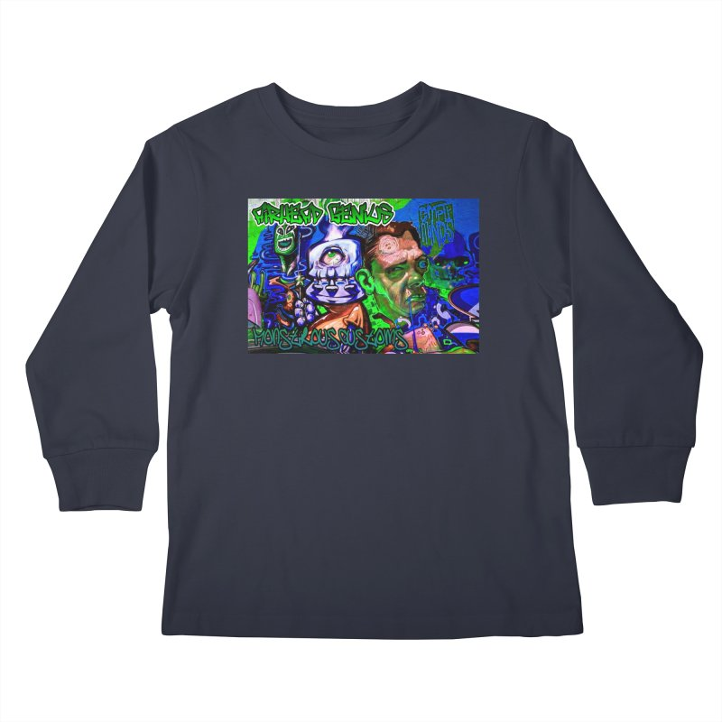 Airhead Genius Kids Longsleeve T-Shirt by Monstrous Customs
