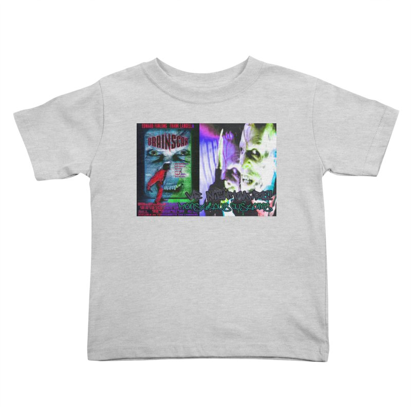 Scan Your Brain! Kids Toddler T-Shirt by Monstrous Customs