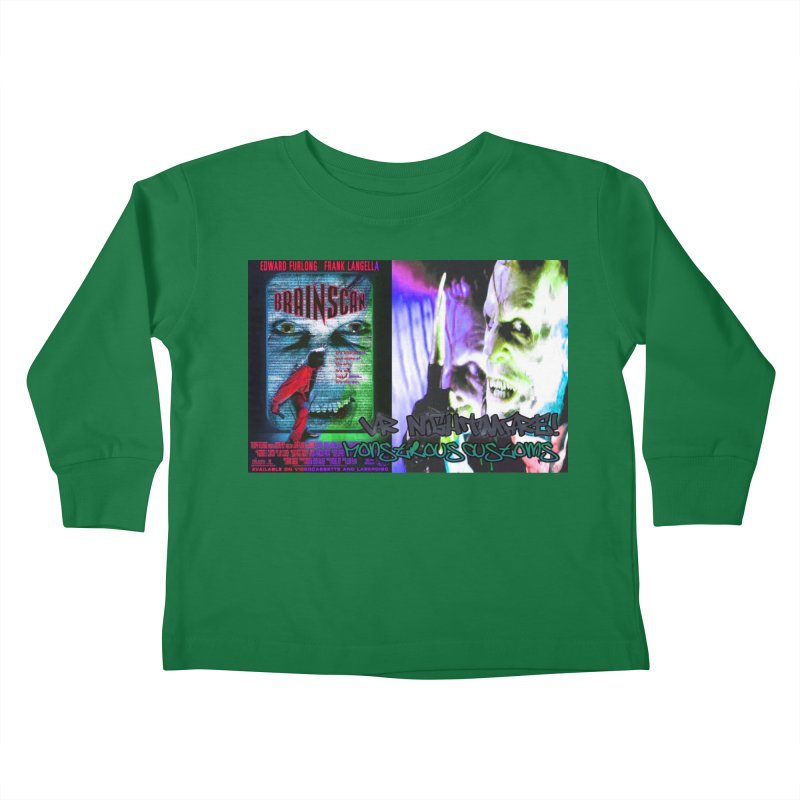 Scan Your Brain! Kids Toddler Longsleeve T-Shirt by Monstrous Customs