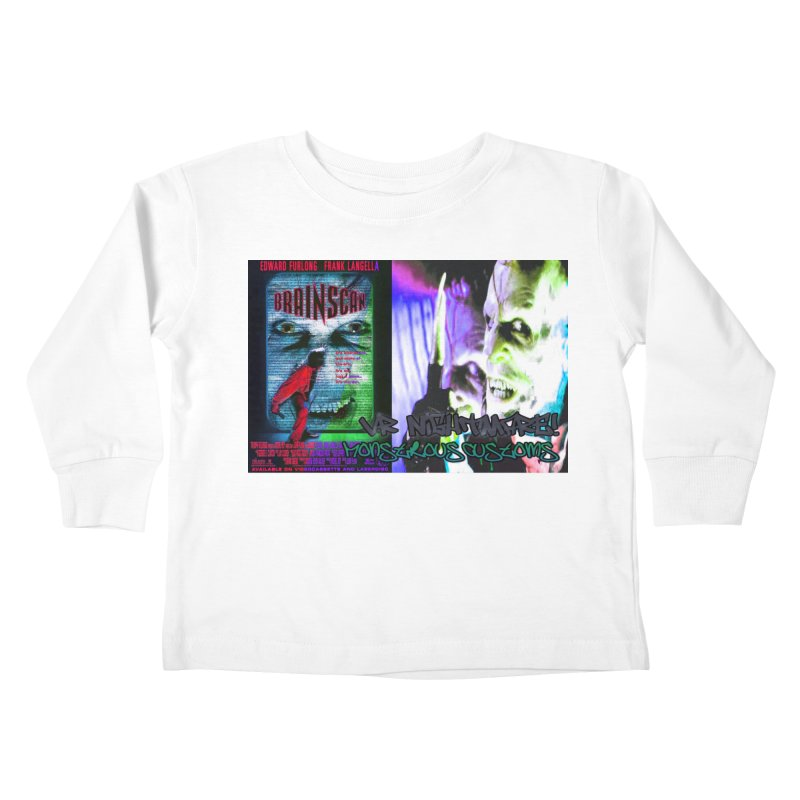 Scan Your Brain! Kids Toddler Longsleeve T-Shirt by Monstrous Customs