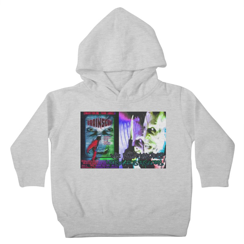 Scan Your Brain! Kids Toddler Pullover Hoody by Monstrous Customs