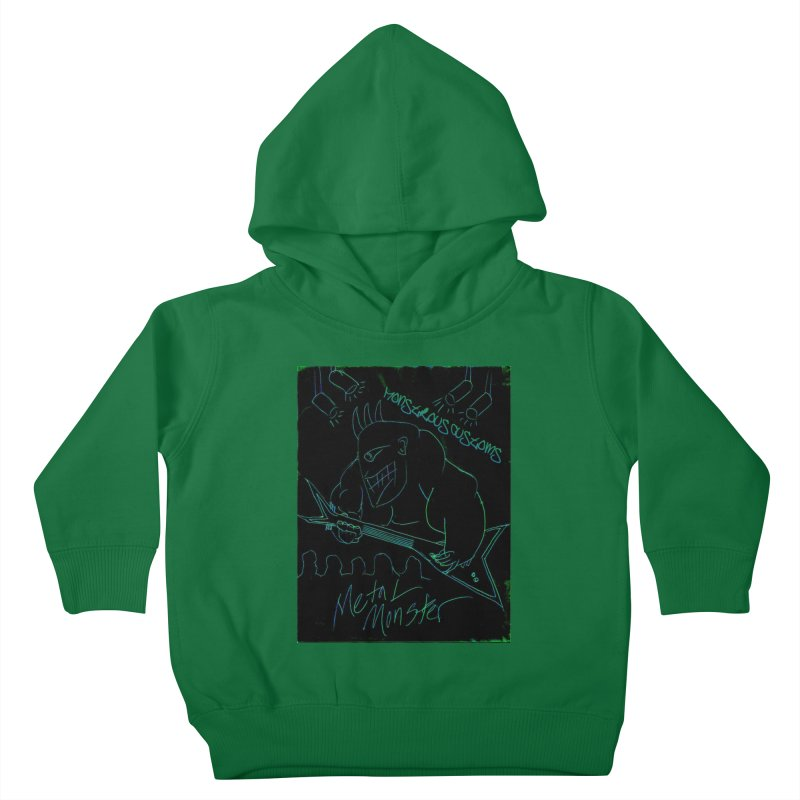 Metal Monster Kids Toddler Pullover Hoody by Monstrous Customs