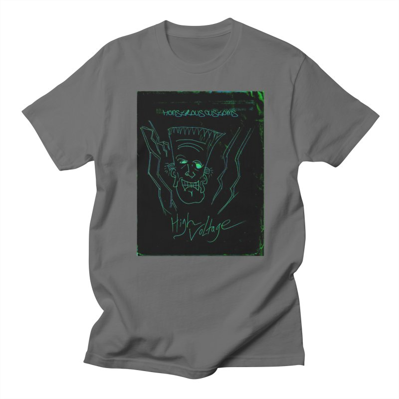 High Voltage Frank Men's T-Shirt by Monstrous Customs