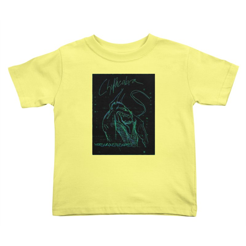 The Chupacabra! Kids Toddler T-Shirt by Monstrous Customs
