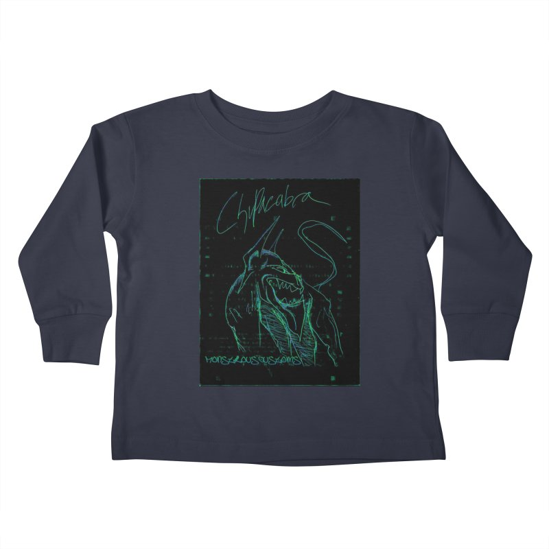 The Chupacabra! Kids Toddler Longsleeve T-Shirt by Monstrous Customs