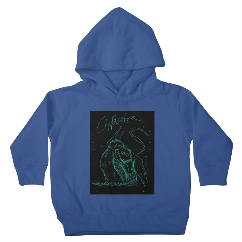 The Chupacabra! Kids Toddler Pullover Hoody by Monstrous Customs
