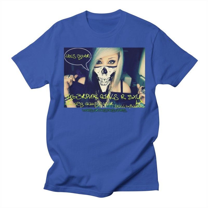 Cyber Girls R SXY Women's Unisex T-Shirt by Monstrous Customs