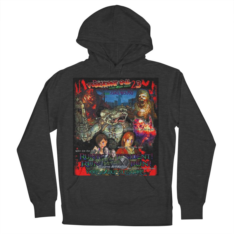 President Evil 23: The Movie Women's French Terry Pullover Hoody by Monstrous Customs