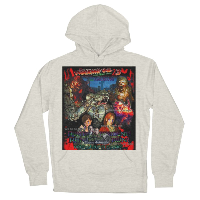 President Evil 23: The Movie Men's French Terry Pullover Hoody by Monstrous Customs