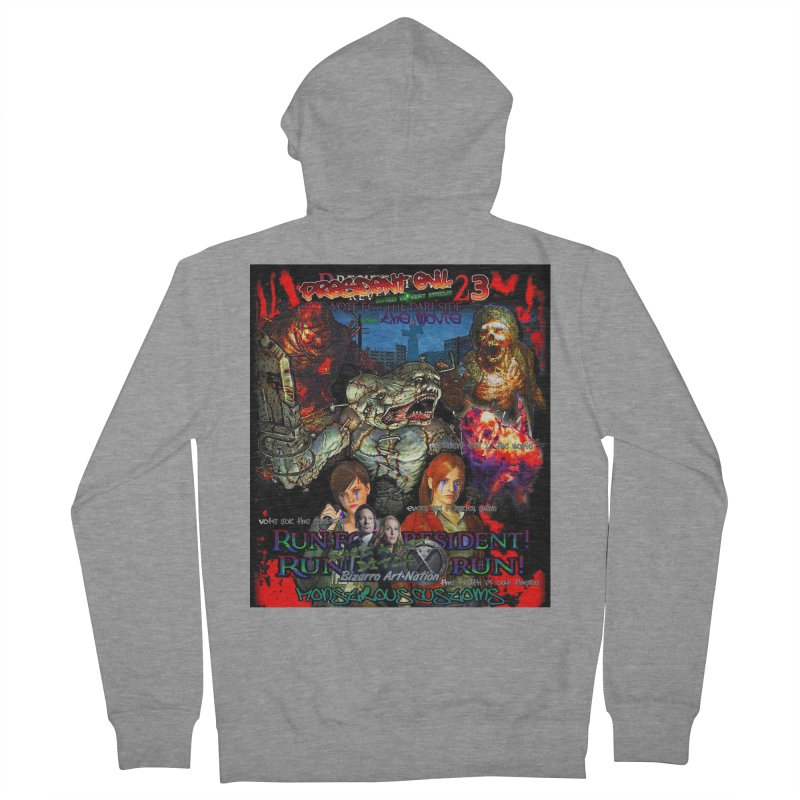 President Evil 23: The Movie Women's Zip-Up Hoody by Monstrous Customs