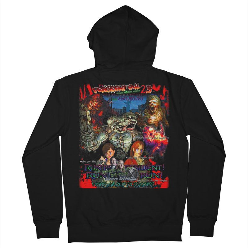 President Evil 23: The Movie Women's French Terry Zip-Up Hoody by Monstrous Customs