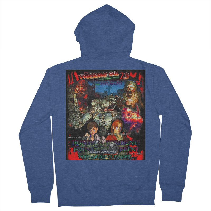 President Evil 23: The Movie Men's Zip-Up Hoody by Monstrous Customs