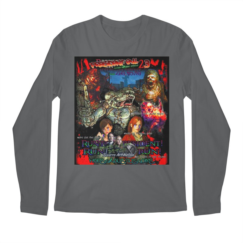 President Evil 23: The Movie Men's Regular Longsleeve T-Shirt by Monstrous Customs