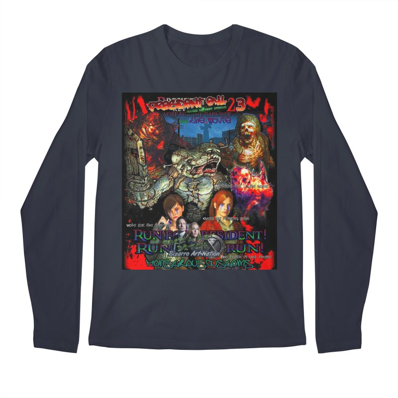 President Evil 23: The Movie Men's Longsleeve T-Shirt by Monstrous Customs