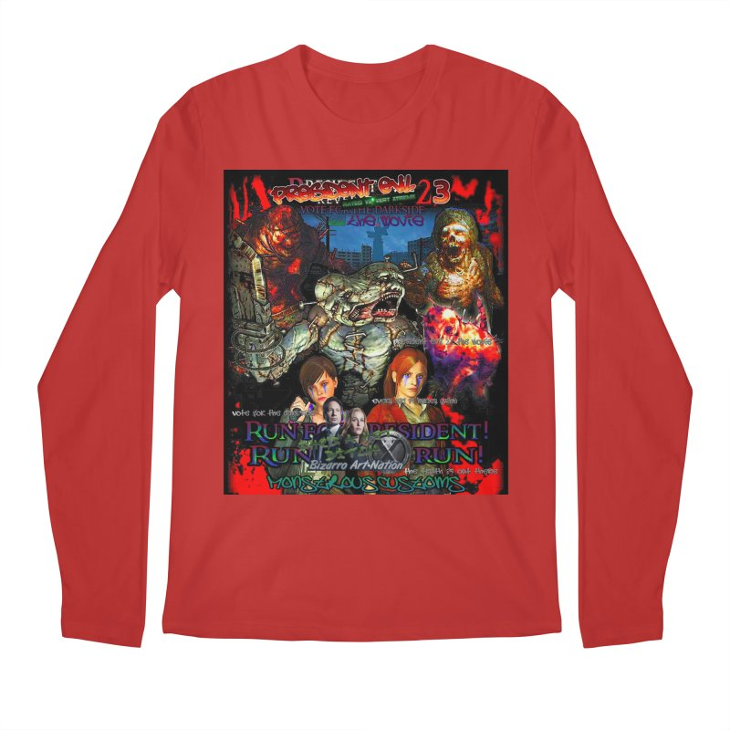 President Evil 23: The Movie Men's Regular Longsleeve T-Shirt by Monstrous Customs