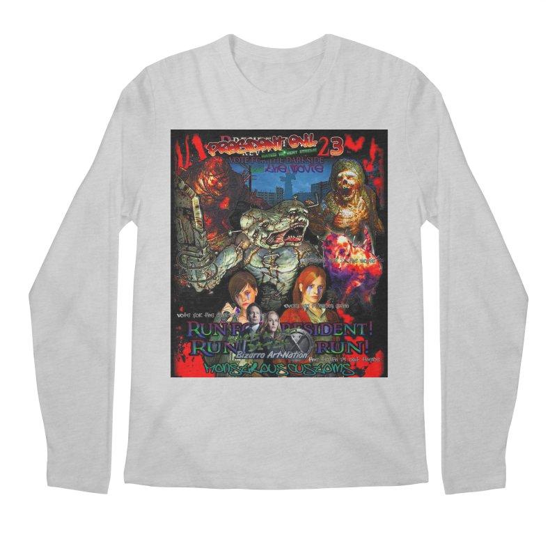 President Evil 23: The Movie Men's Longsleeve T-Shirt by Monstrous Customs