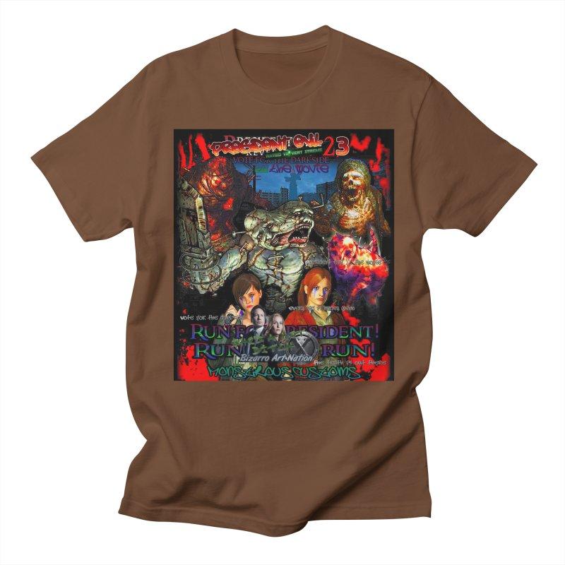 President Evil 23: The Movie Men's Regular T-Shirt by Monstrous Customs