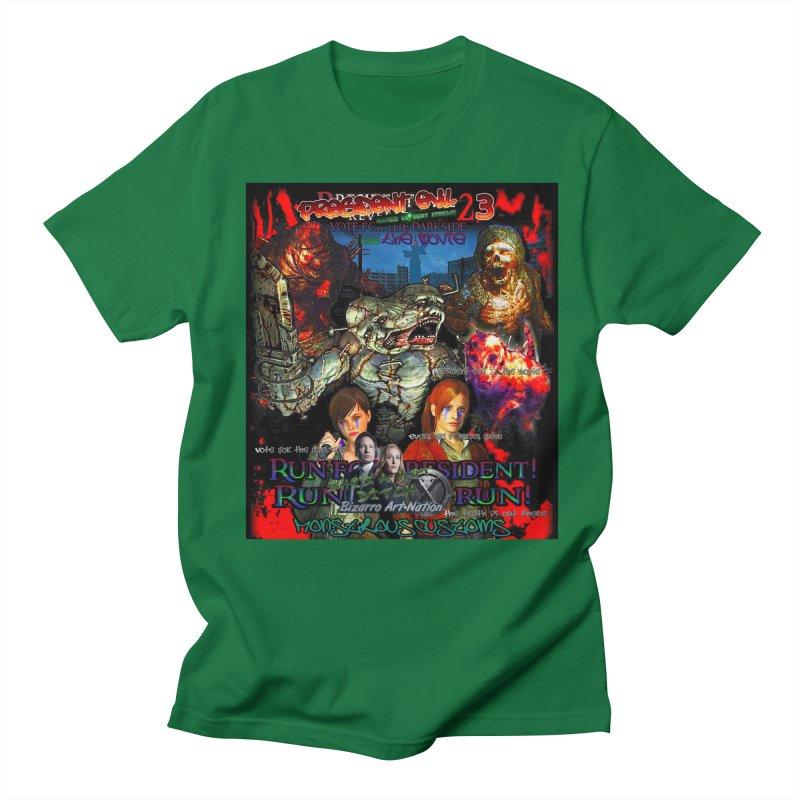 President Evil 23: The Movie Women's Regular Unisex T-Shirt by Monstrous Customs