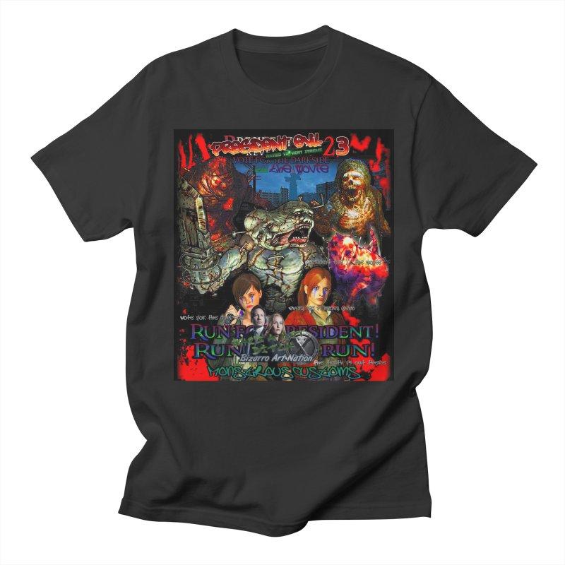 President Evil 23: The Movie Men's T-shirt by Monstrous Customs