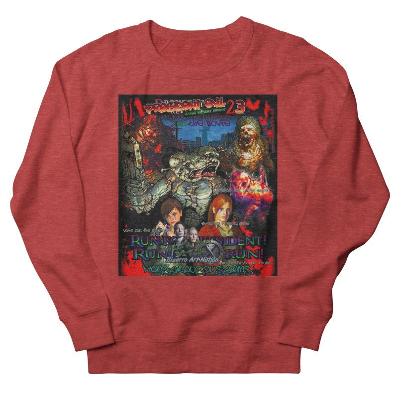 President Evil 23: The Movie Women's French Terry Sweatshirt by Monstrous Customs