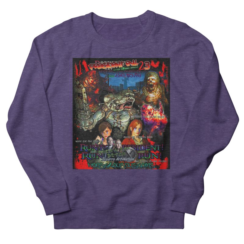 President Evil 23: The Movie Men's French Terry Sweatshirt by Monstrous Customs