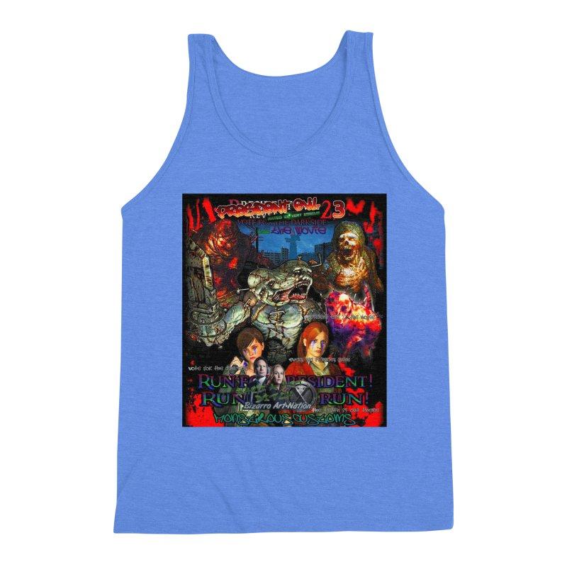 President Evil 23: The Movie Men's Triblend Tank by Monstrous Customs