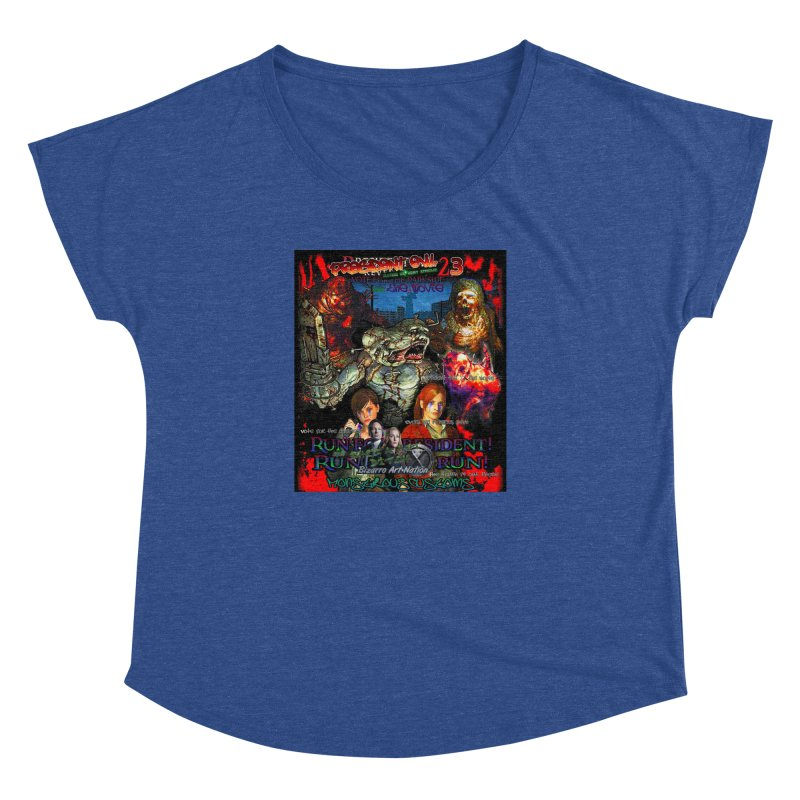 President Evil 23: The Movie Women's Dolman Scoop Neck by Monstrous Customs